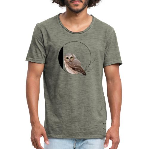 O for Owl - Mannen Vintage T-shirt