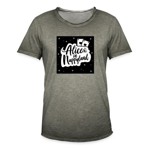 Alice in Nappyland 1 - Men's Vintage T-Shirt