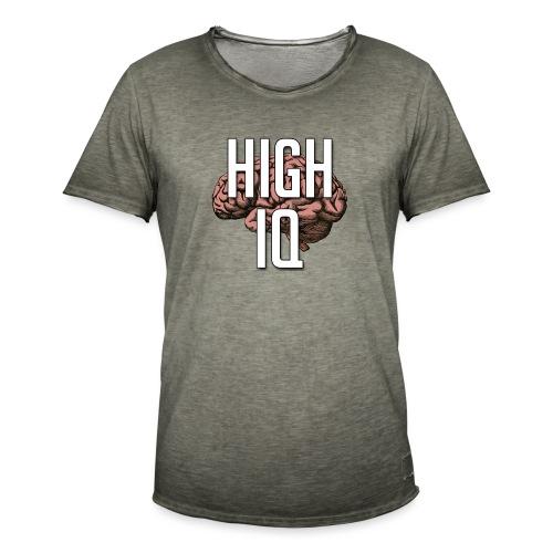 XpHighIQ - T-shirt vintage Homme