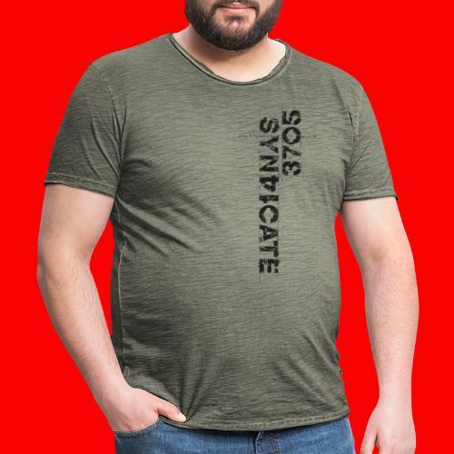 LOGO BLACK - Vintage-T-shirt herr