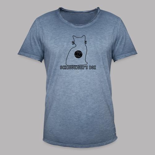 Schrodinger's Box - Men's Vintage T-Shirt