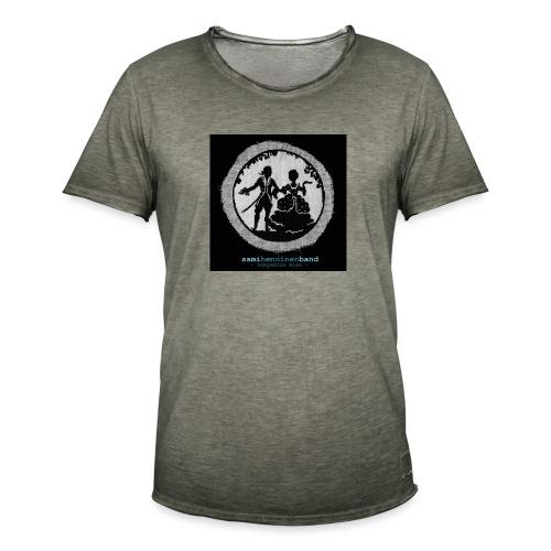 SHB - Näkymätön mies - Miesten vintage t-paita
