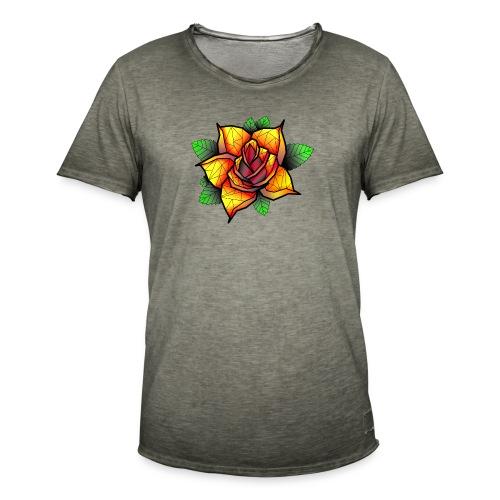 rose - T-shirt vintage Homme