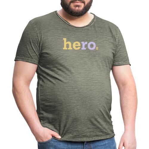 he ro - Men's Vintage T-Shirt
