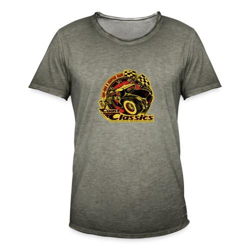 hot rod story - T-shirt vintage Homme