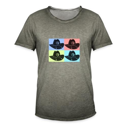 cuatro rick - Camiseta vintage hombre