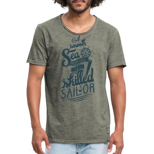 A smooth sea - Männer Vintage T-Shirt