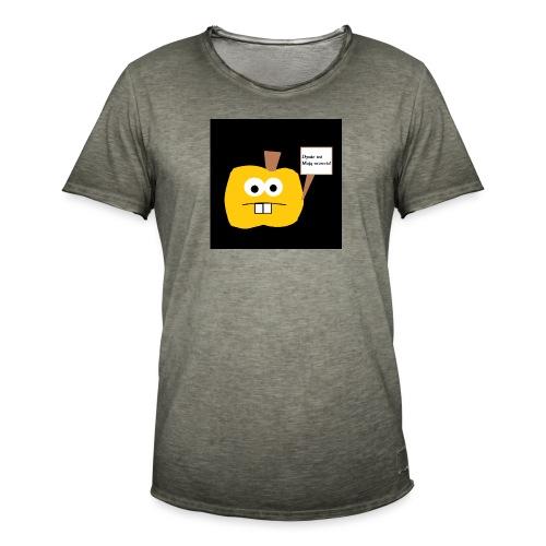Dyńka - Koszulka męska vintage