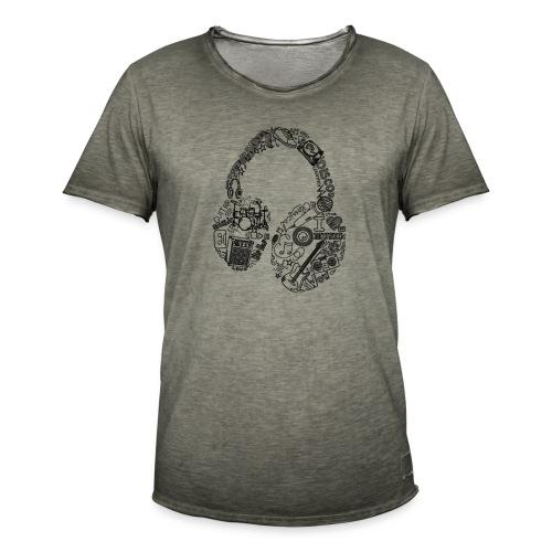 Música - Camiseta vintage hombre