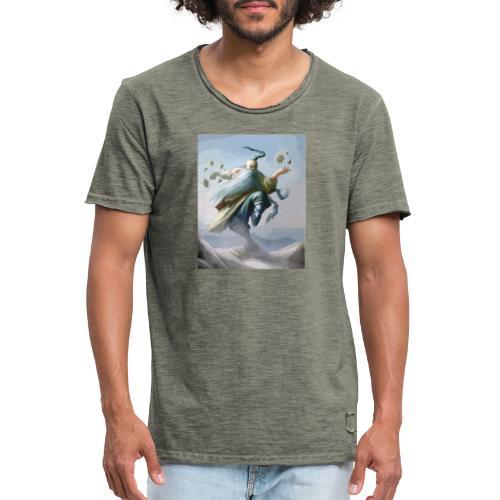 musululma fantasía - Camiseta vintage hombre
