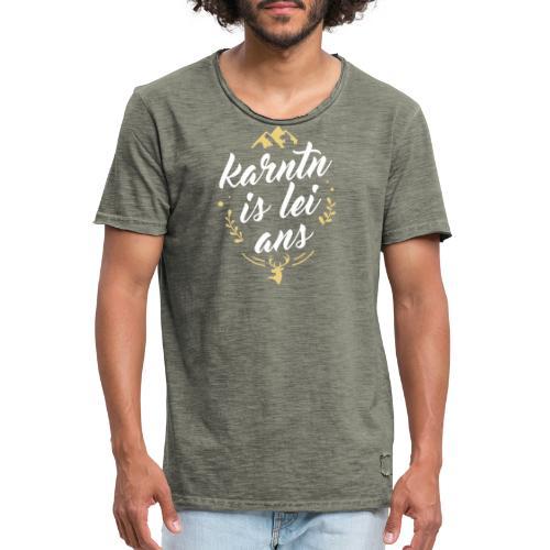 Karntn is lei ans • Nature Edition - Männer Vintage T-Shirt