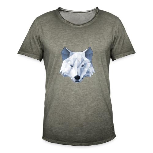 Logo Groß Jaulustus - Männer Vintage T-Shirt