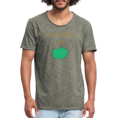 Maskenball 2020 - Männer Vintage T-Shirt