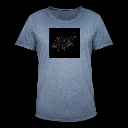 -Logo Qrust- - T-shirt vintage Homme