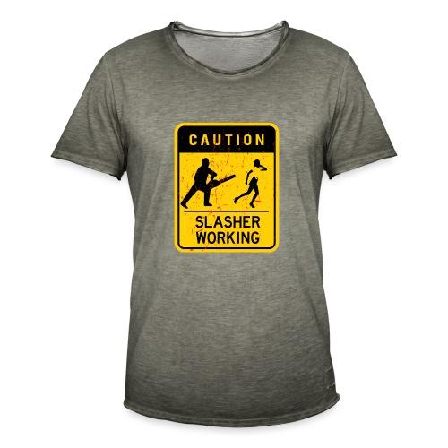 Slasher working - T-shirt vintage Homme