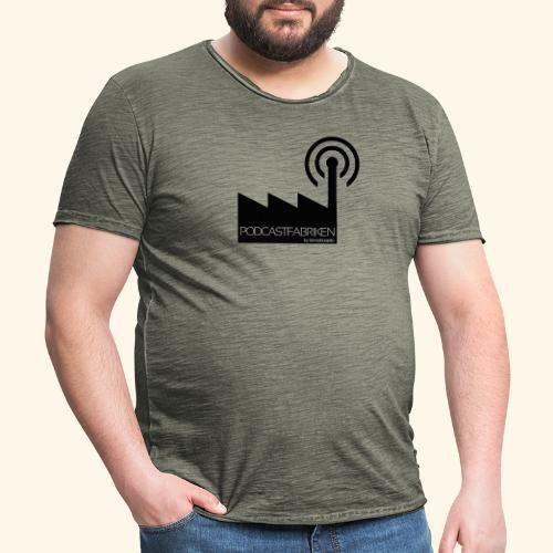 podcastfabriken.se - Vintage-T-shirt herr