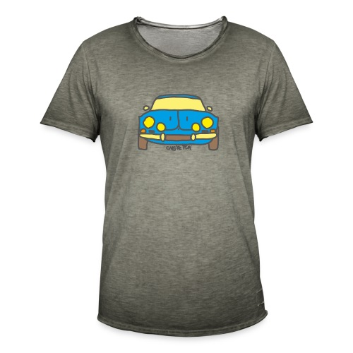 Voiture ancienne mythique française - T-shirt vintage Homme