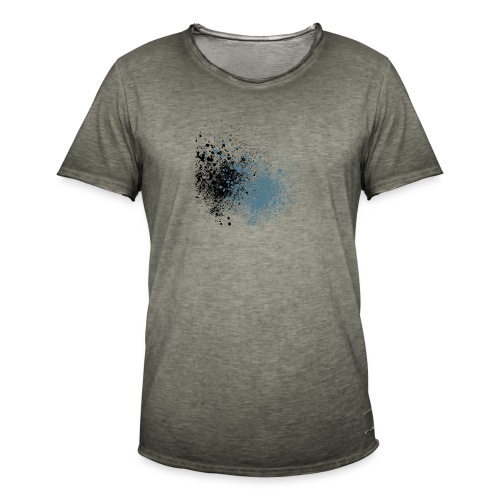 färger - Vintage-T-shirt herr