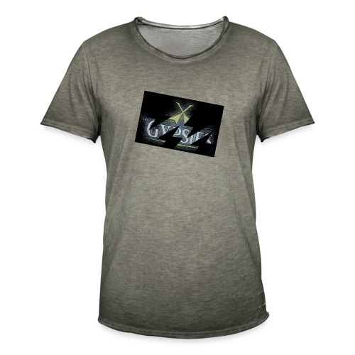 GYPSIES BAND LOGO - Men's Vintage T-Shirt