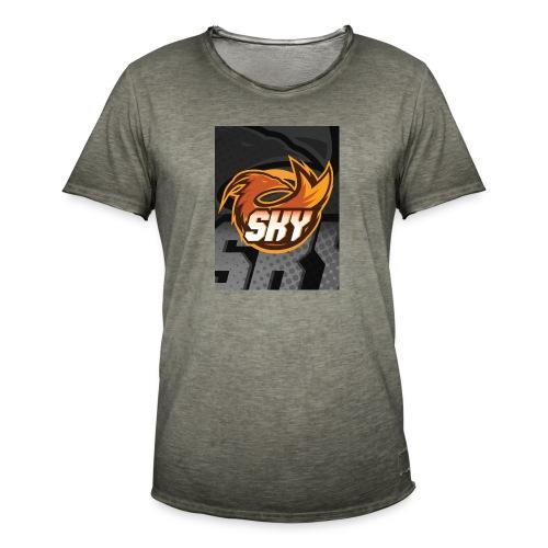 skygaming - Herre vintage T-shirt