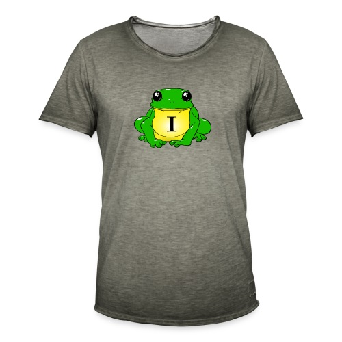 IndirectHat -LOGO- - Maglietta vintage da uomo