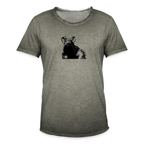 Angry Ray - Koszulka męska vintage