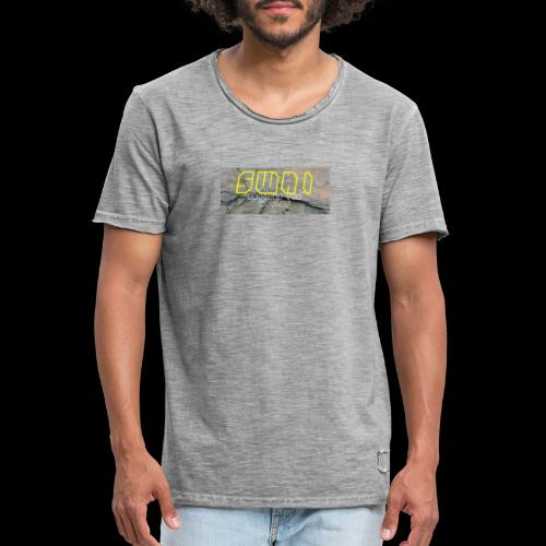 swai stoned yellow - Männer Vintage T-Shirt
