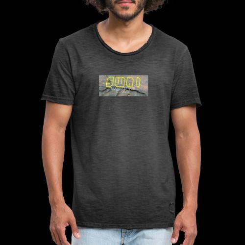 swai stoned yellow - Männer Vintage T-Shirt