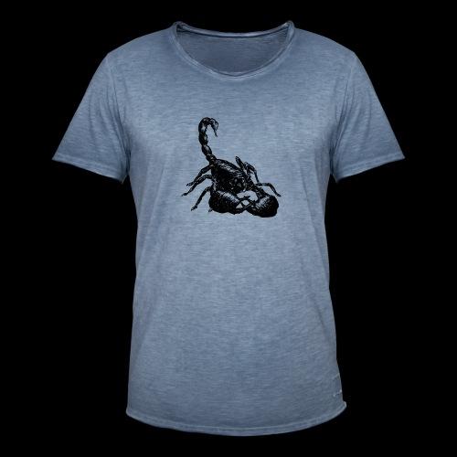 Nether Scorpion - Maglietta vintage da uomo