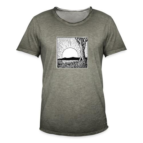 SUNSUNSOL - Camiseta vintage hombre