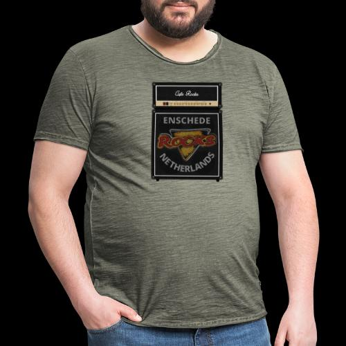 Rocks Amp Stack - Mannen Vintage T-shirt