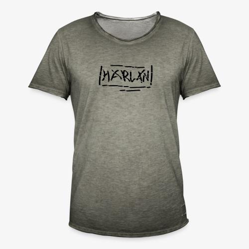 Harlan [|- Logo Destroy-|] - T-shirt vintage Homme