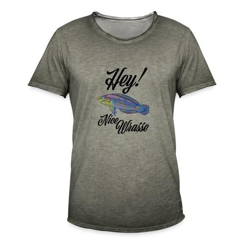 Nice Wrasse - Men's Vintage T-Shirt
