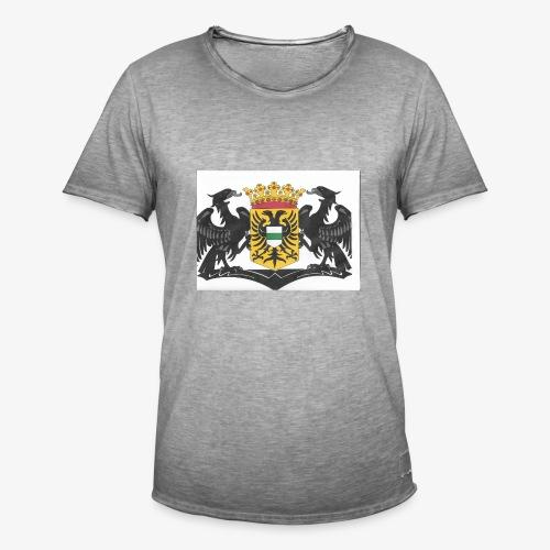 groningen - Mannen Vintage T-shirt