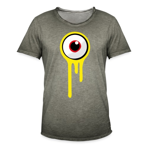 A&B • Eyeball (1 print: front / back) - Miesten vintage t-paita