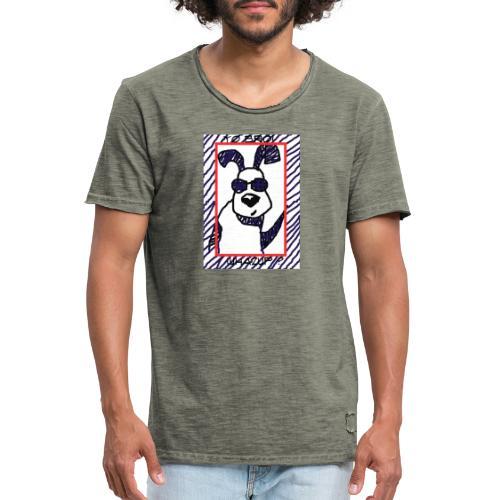 doggy star - Maglietta vintage da uomo