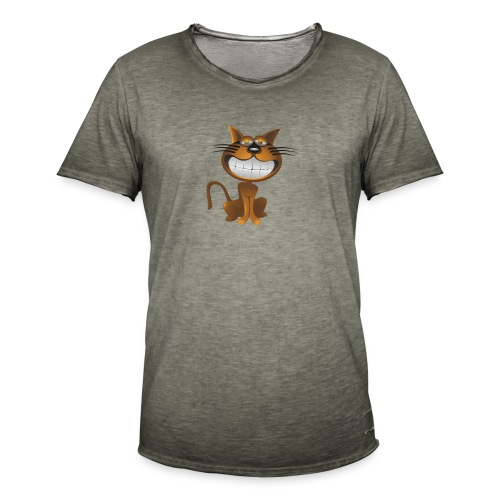Koszulka kot 15 - Koszulka męska vintage