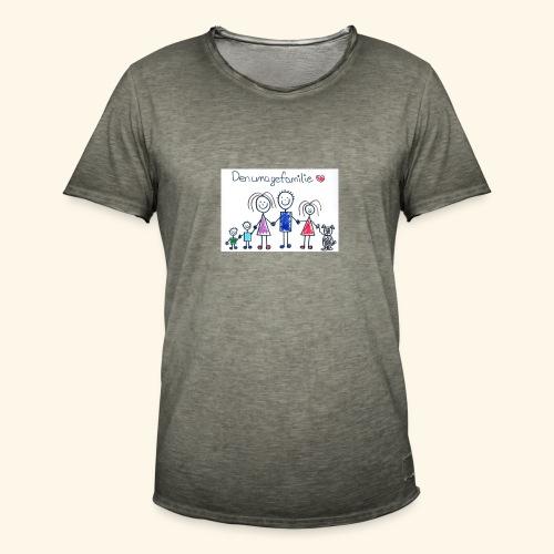 DenUmageFamilie - Herre vintage T-shirt