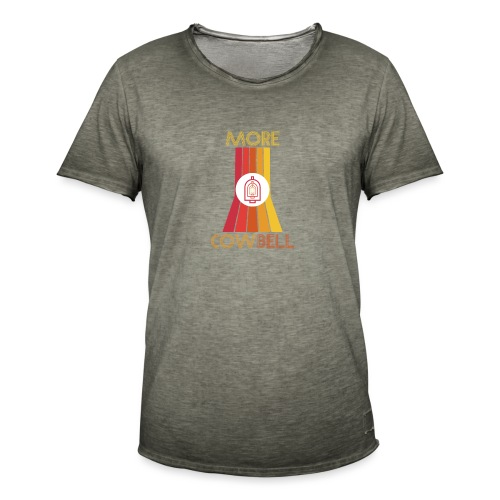 more cowbell - Men's Vintage T-Shirt