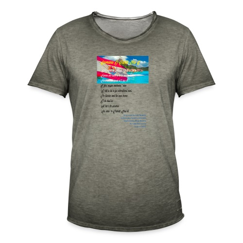 15 HYMNE TAHITI - T-shirt vintage Homme