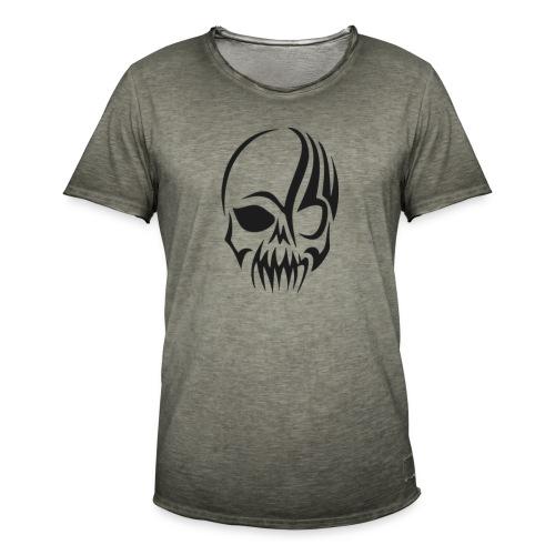 Crane tribale - T-shirt vintage Homme