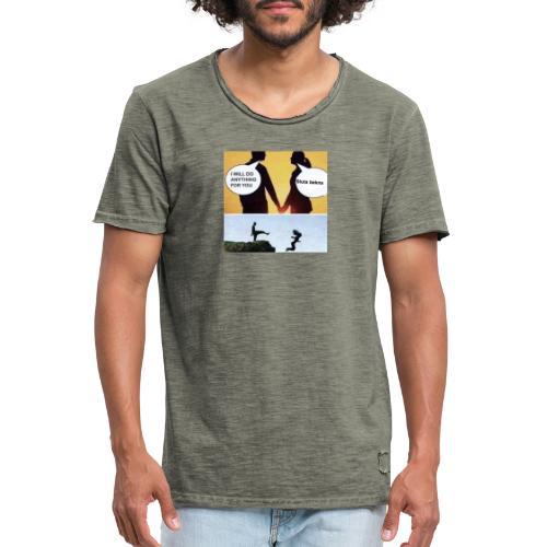 Beckna - Vintage-T-shirt herr
