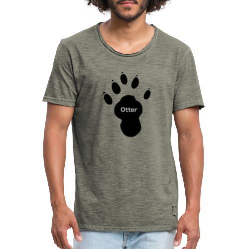 Otter Paw - Men's Vintage T-Shirt