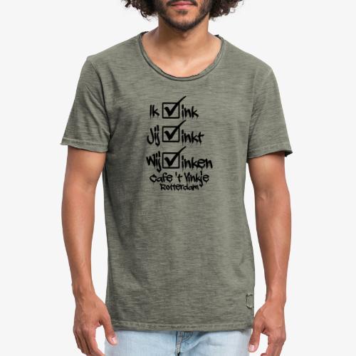 ik vink - Mannen Vintage T-shirt