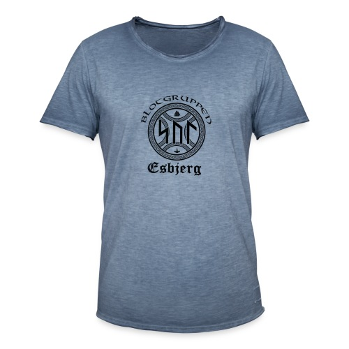 Asatro Blòtgruppen Sol Esbjerg - Herre vintage T-shirt