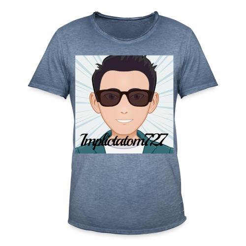 Implictatom727 Official Iconic Profile Pic. - Men's Vintage T-Shirt