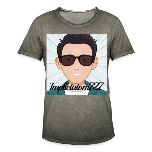 Implictatom727 Official Iconic Profile Pic. - Men's Vintage T-Shirt