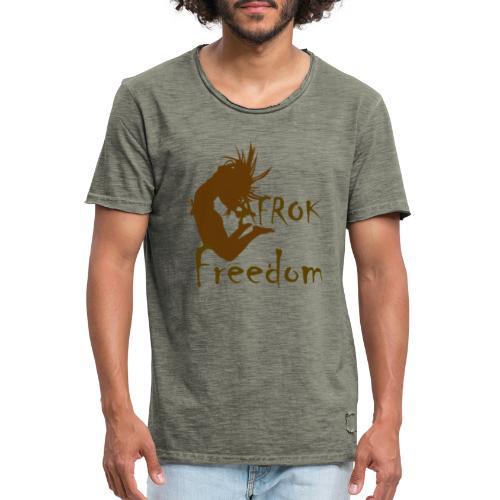 AFROK Freedom - Men's Vintage T-Shirt