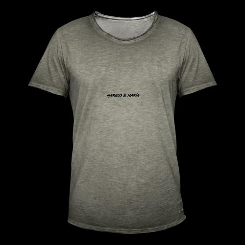 markus och maria - Vintage-T-shirt herr