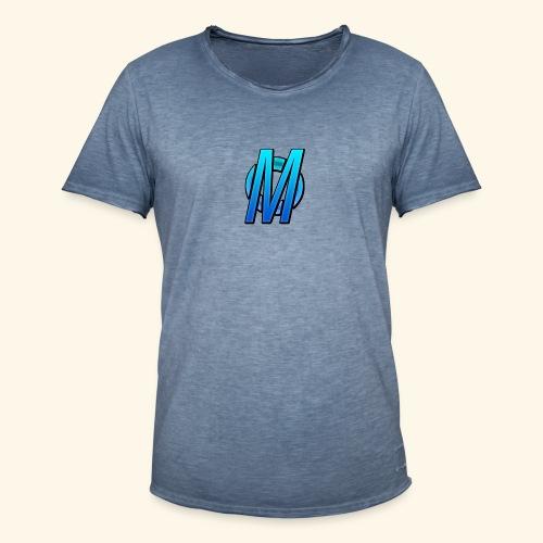 MirBlue - Miesten vintage t-paita